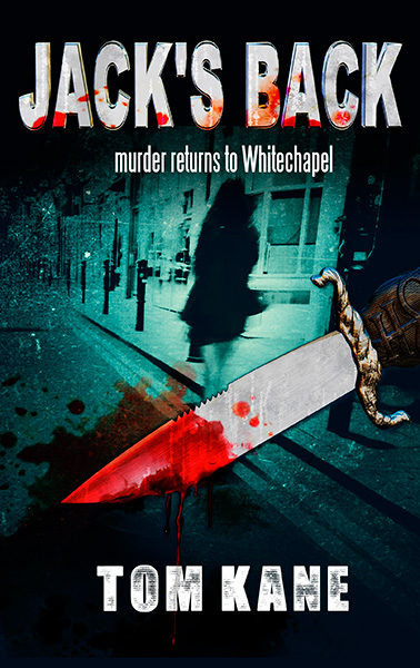 Jack the Ripper book cover artwork