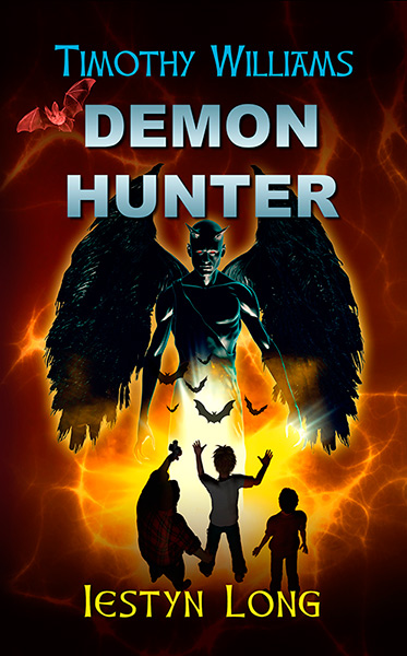 Demon Hunter cover design
