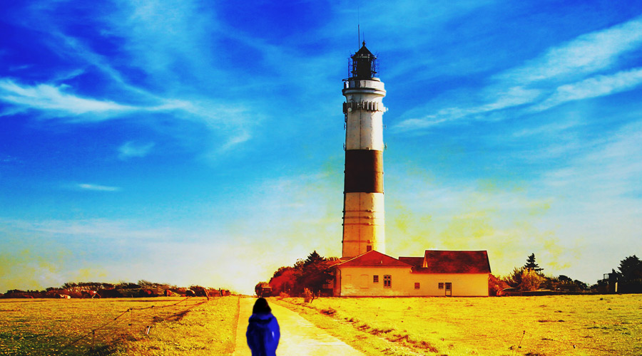 Lighthouse Chick Lit Background