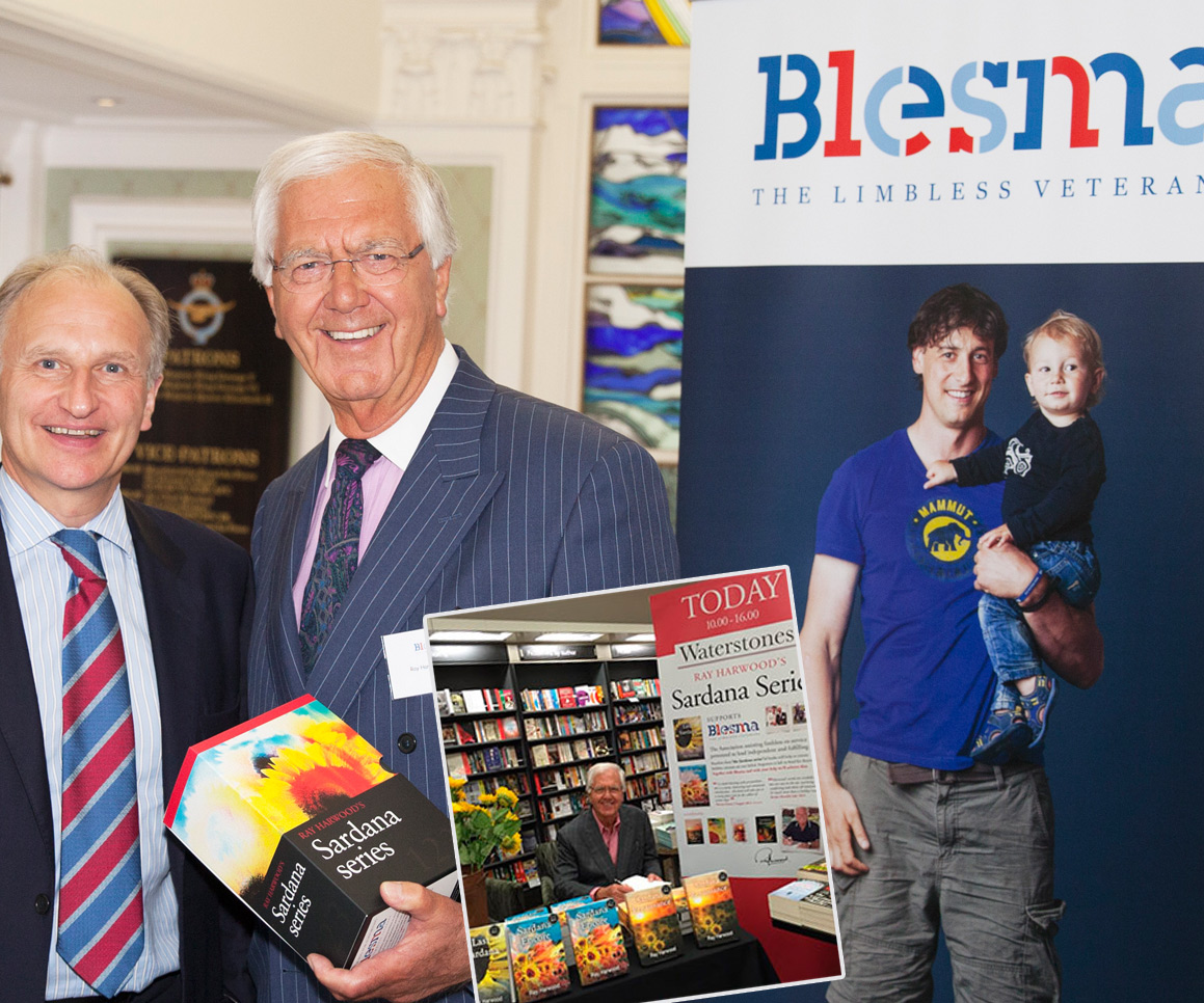 Ray Harwood supporting Blesma