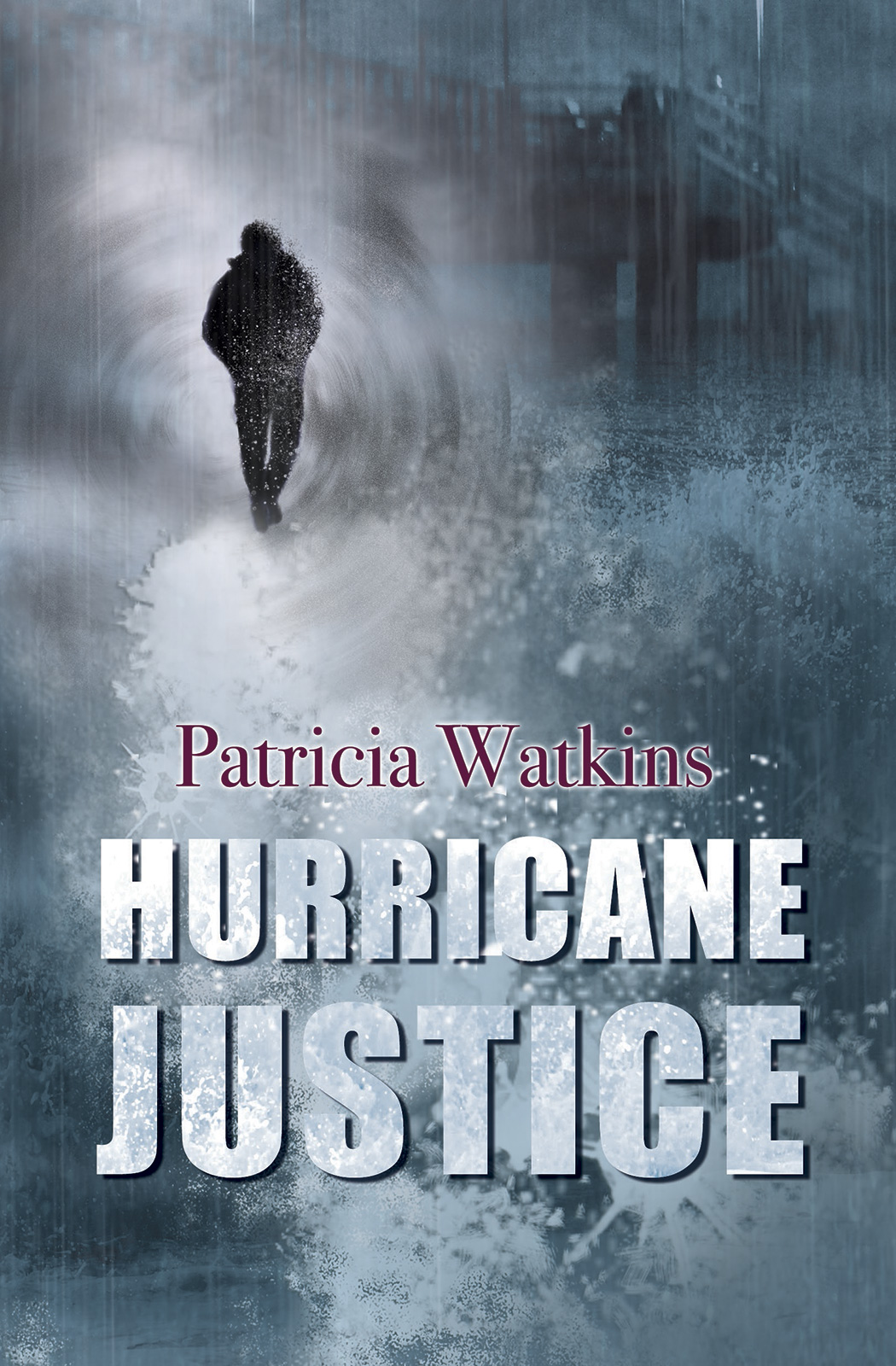 Hurrican Justice crime book cover design