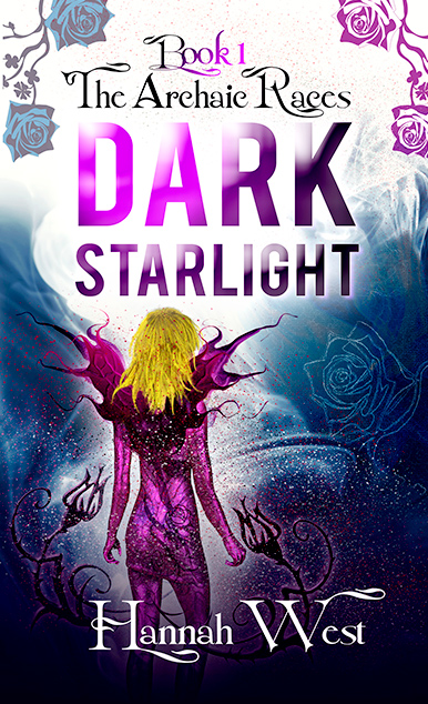 Dark Starlight book cover design by Jacqueline Abromeit