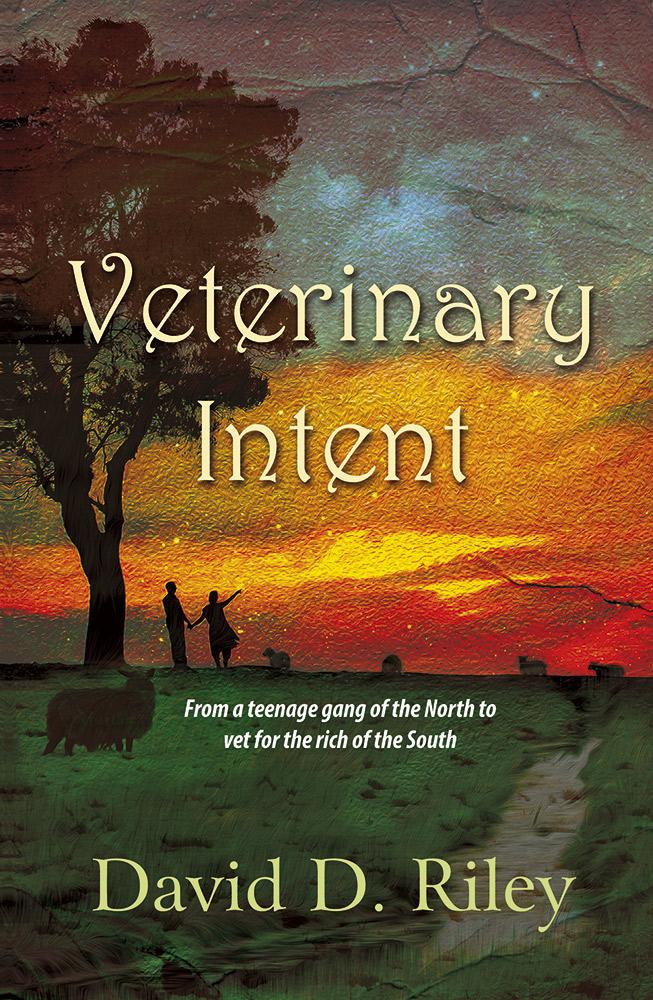 Veterinary Intent Book Cover Design