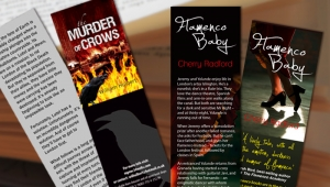 Bookmarks for promoting your book