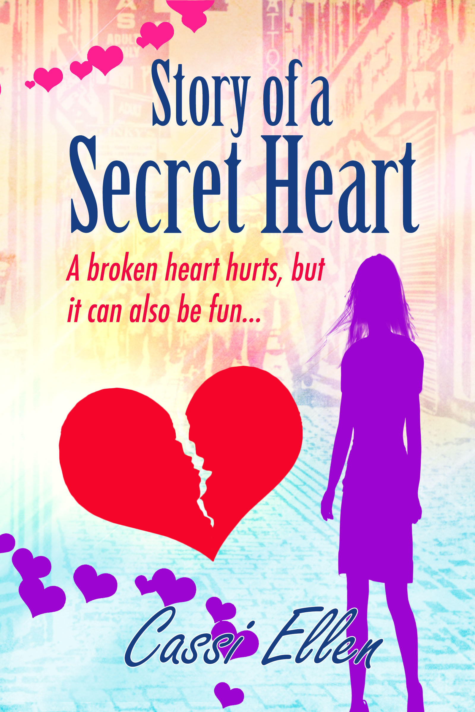 Story of a Secret Heart, chick lit book cover